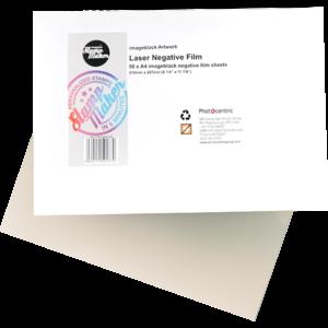 Laser film for printing Negatives